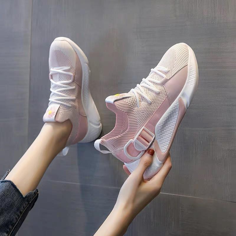 Giày Nữ, Giày Thể Thao Sneaker Nữ G17 Hot Trend