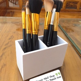 Lọ đựng cọ trang điểm và đựng bút để bàn làm việc đủ màu tiện dụng. thumbnail