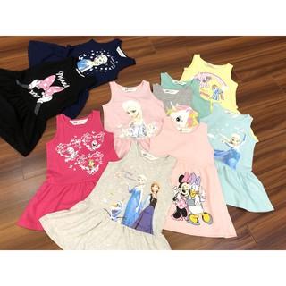 Váy HM mickey, elsa, pony cho bé gái nhiều mẫu (Size 2-10y)