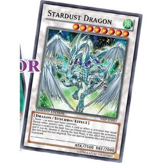 Bộ bài stardust dragon của yusei- bài yughioh chính hãng