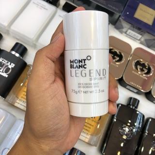 [ẢNH THẬT] Lăn Khử Mùi Nam Montblanc Legend Spirit 75ml . Chính Hãng