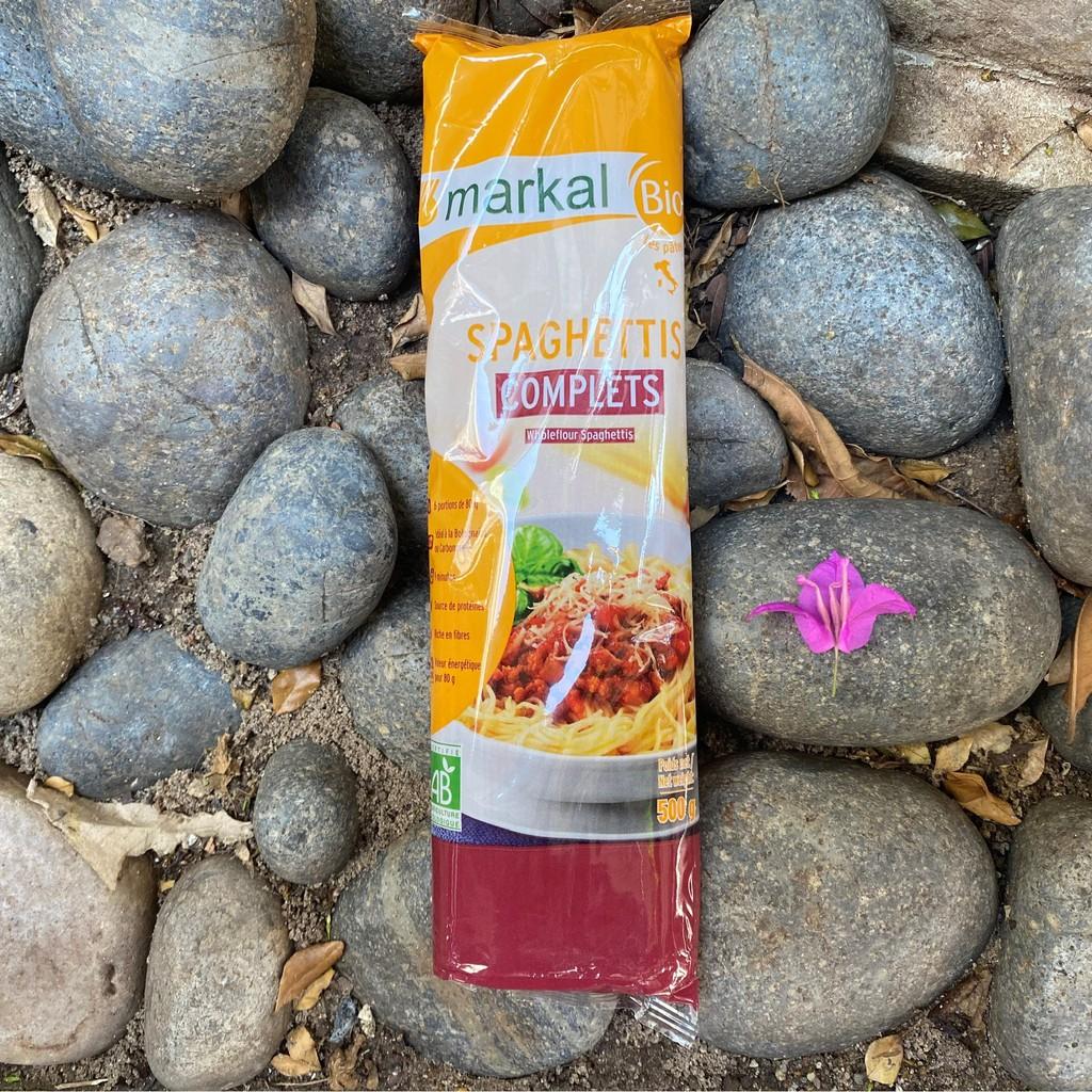 Review mì spaghetti lứt hữu cơ markal 500g | Canhsale.net