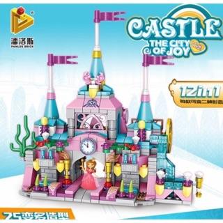 Lego friends lâu đài công chúa 12 in 1 friend- 566 miếng ghép