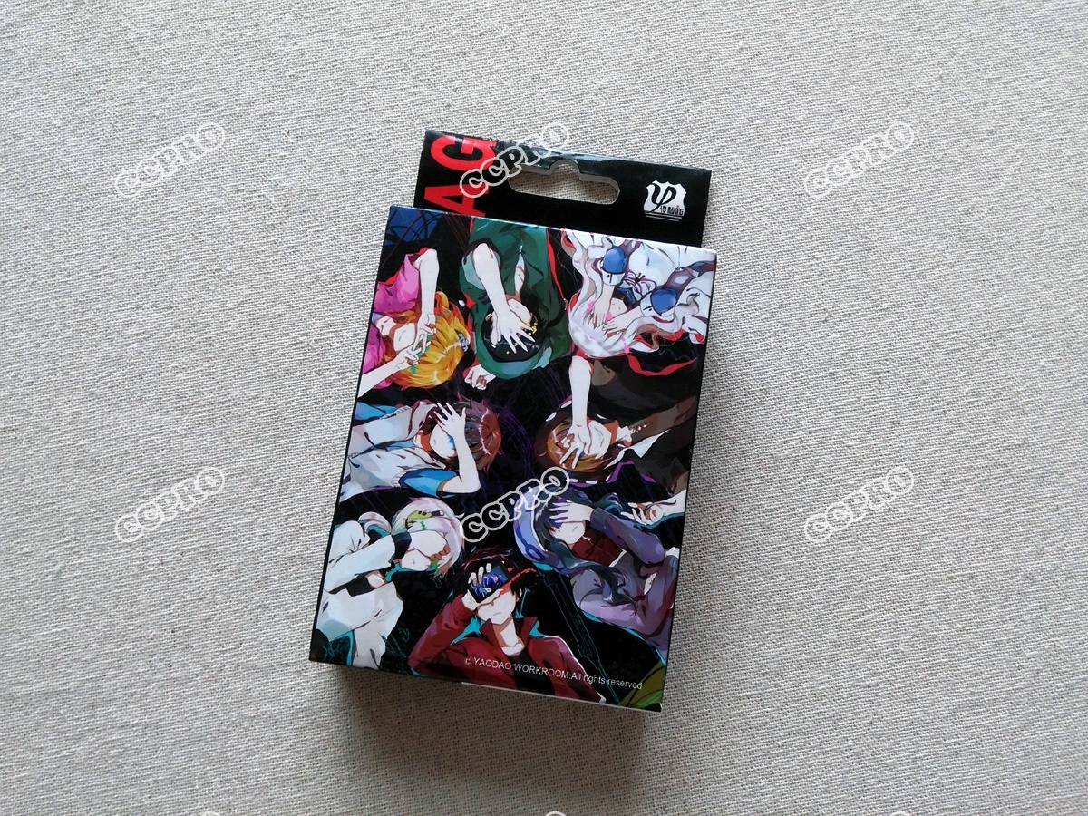 Anime MekakuCity Actors Poker Cards/bridge Cards/desk Cards/playing Cards with Kido/Seto