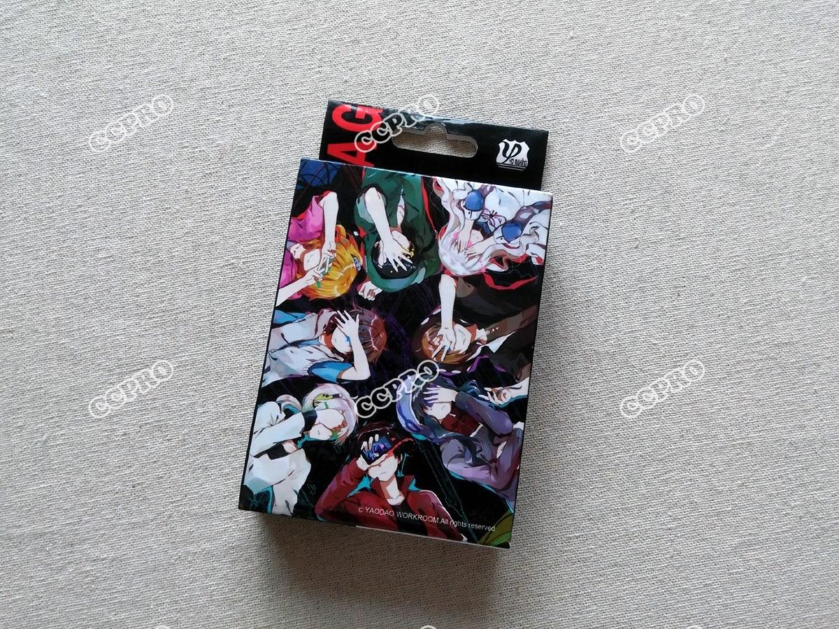 Anime MekakuCity Actors Poker Cards/bridge Cards/desk Cards/playing Cards with Kido/Seto