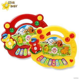 Baby Fun Musical Toys Animal Piano Electronic Keyboard Music Development Educational Toys