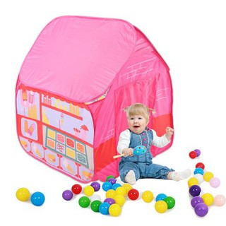 Camping Game House Kids Outdoor Tent Playhouse Single Outdoor Vierecken House Ocean Ball Pool