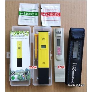 Combo 1 Bút Đo Độ PH Và 1 Bút Đo Nước Sạch (TDS) ( Máy Đo Ph, Dụng Cụ Đo Độ PH, máy đo nước, bút kiểm tra nước )