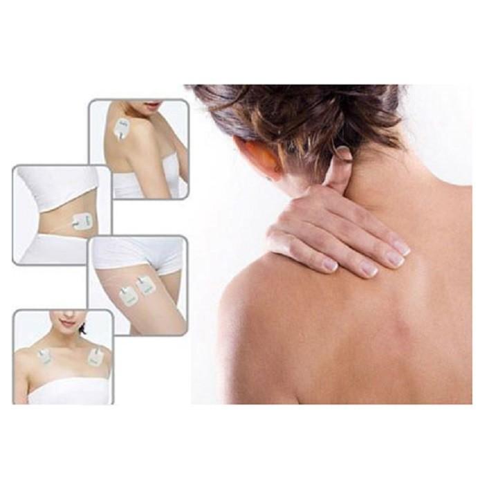 Máy massage trị liệu xung điện thương hiệu Đức Aukewel AK-2000 4 miếng dán