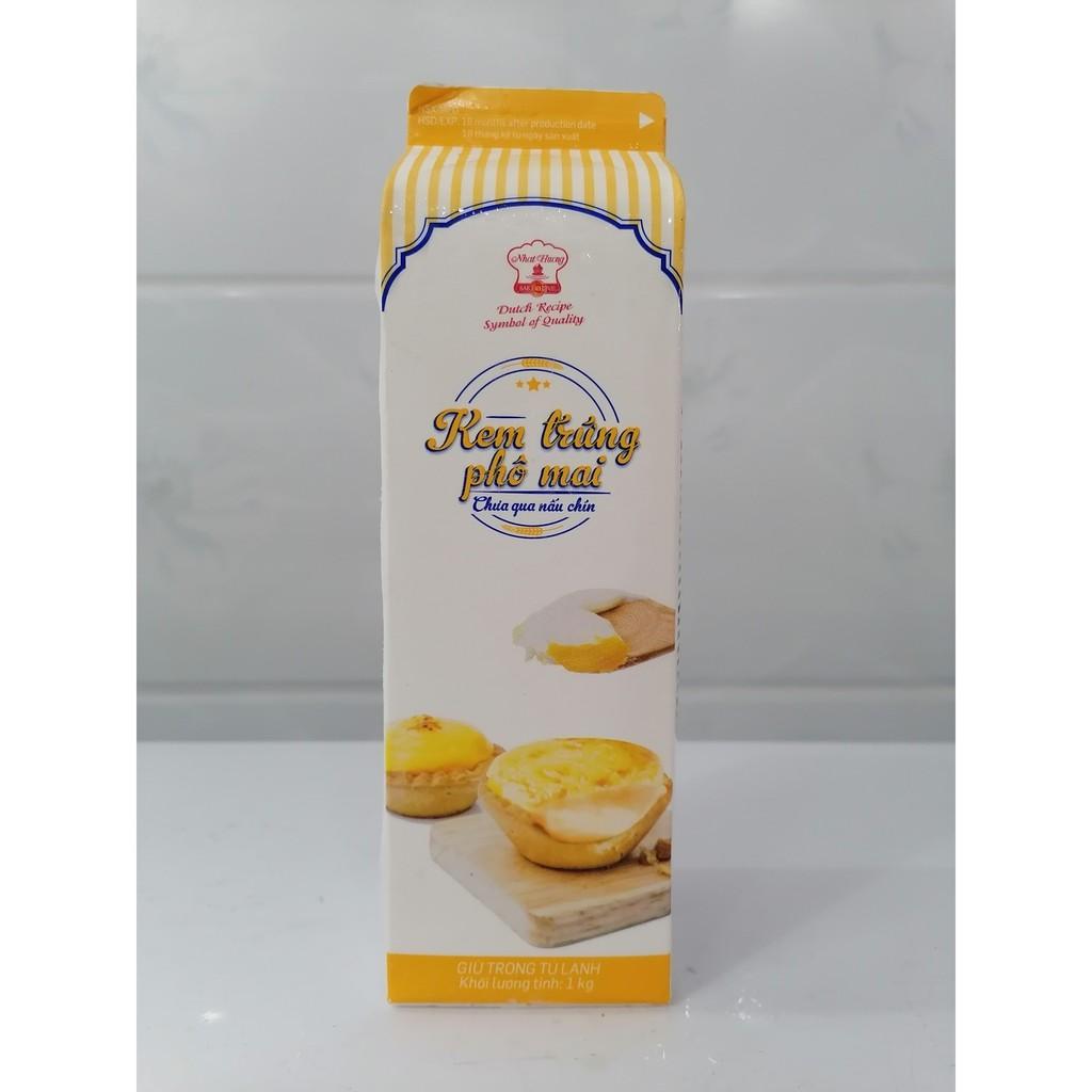 Kem Trứng Phô Mai Nhất Hương Cheese Egg Cream - 1Kg