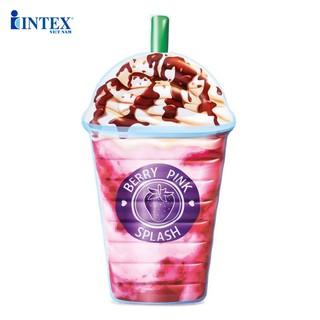 Phao bơi trà sữa khổng lồ siêu hot INTEX 58777