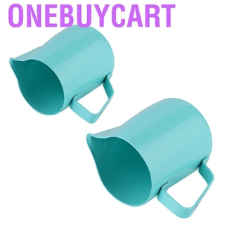Onebuycart Stainless Steel Coffee Pitcher Milk Frothing Jug Cup for Latte Art Making