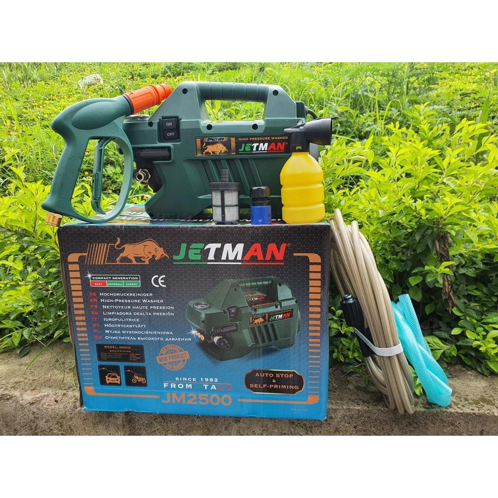 Máy rửa xe mini dùng cho gia đình Jetman 2500