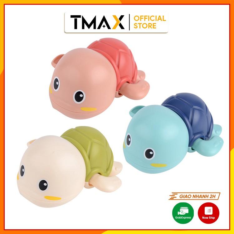 Đồ chơi rùa bơi nước vặn cót giúp trẻ em vui chơi giải trí trong nhà tắm phù hợp cho bé từ 1 tuổi TMAX DC33