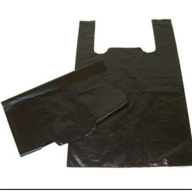 (Giá rẻ) 1kg Bao xốp đen bóng dày đóng hàng loại 1