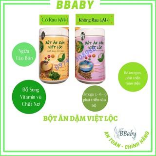BỘT ĂN DẶM cho Bé – Hộp 500gr – Việt Lộc – BBaBy