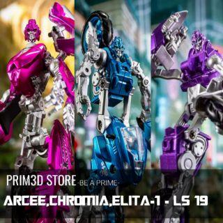 Mô hình Transformers Arcee, Chromia, Elita-1 Aoyimech(BmB) LS-19