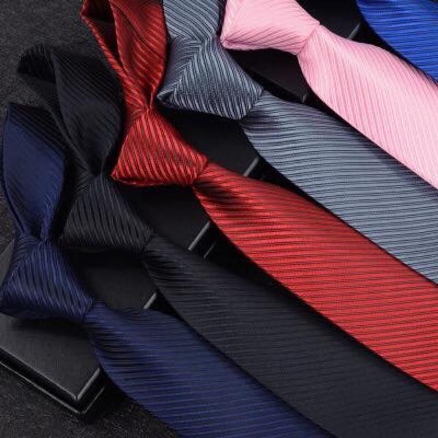 cà vạt nam bản sần cao cấp - cà vạt công sở