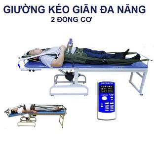 Giường kéo giãn cột sống lưng, cổ,toàn thân bằng điện 3 chiều 2 môtơ A999