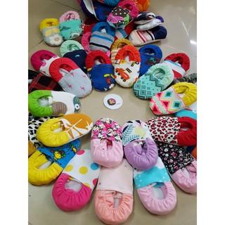 Giày vải tập đi cho bé giày vải dành cho bé sơ sinh chống trượt với chất liệu cotton mềm mịn mang rất êm