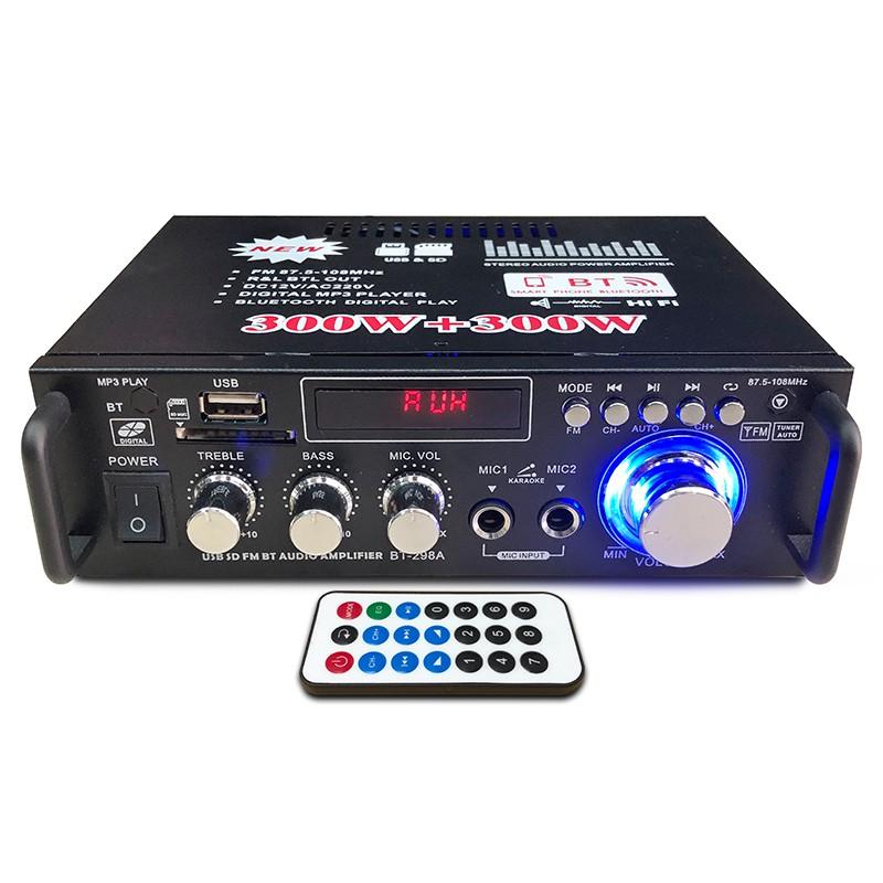 Amply Karaoke mini, Âm ly karaoke giá rẻ,  Amly Mini Bluetooth BT-298A - BẢO HÀNH UY TÍN TOÀN QUỐC