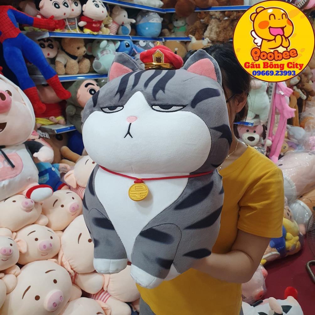 [Ảnh chụp thật] Gấu Bông Mèo Hoàng Thượng siêu hot
