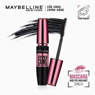 """Mascara Dài Mi và Cong Mi Maybelline New York Hyper Curl Waterproof Chuốt Mi Đen 9.2ml giá chỉ còn <strong class=""""price"""">9.600.000.000đ</strong>"""