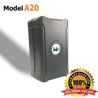 Định vị chống trộm xe máy Ôtô A20, Pin 15 – 20 ngày, Nghe được âm thanh, Không cần lắp đặt