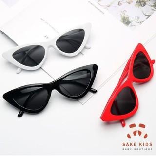 Kính cho bé trai bé gái - Kính râm Mắt Mèo mùa hè cho bé 1-6 tuổi chống tia UV gọng dẻo phong cách Hàn Quốc KM07 thumbnail