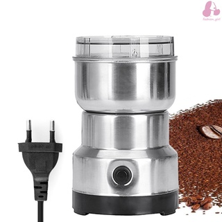 Multifunction Smash Machine Electric Cereals Grain Grinder Mill Spice Herbs Pulverizer Grinding Machine Tool Stainless Steel Electric Coffee Bean Grinder for Home