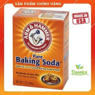Baking Soda / NHẬP KHẨU MỸ / Bột Baking Soda làm trắng răng, làm bánh, tẩy tế bào chết, tẩy rửa 454g nt [ BKSD ]