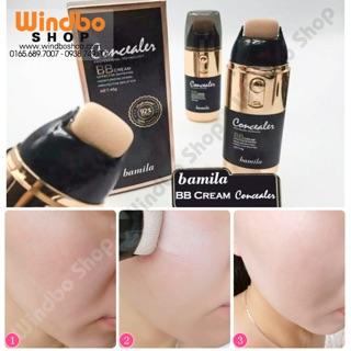Sale 38% BB lăn kem nền che khuyết điểm cực tốt Bamila+ Tặng 1 miếng mặt nạ thumbnail