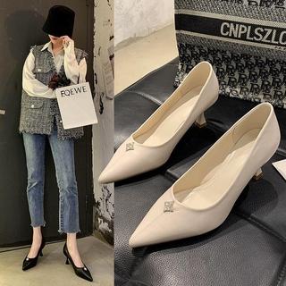 Giày Cao Gót Thời Trang Mùa Xuân Dành Cho Nữ 2021