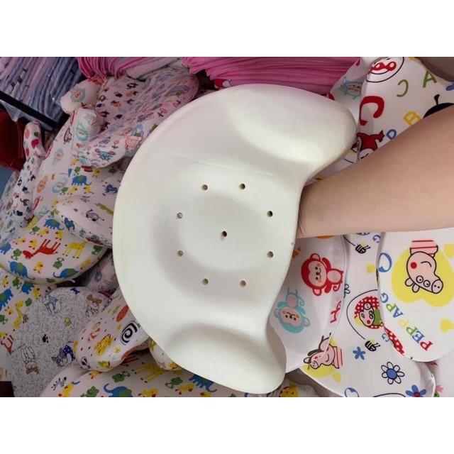 Gối cao su non chống lõm đầu cho bé mẫu mới nhất 2019 | Gối cao su sừng bò