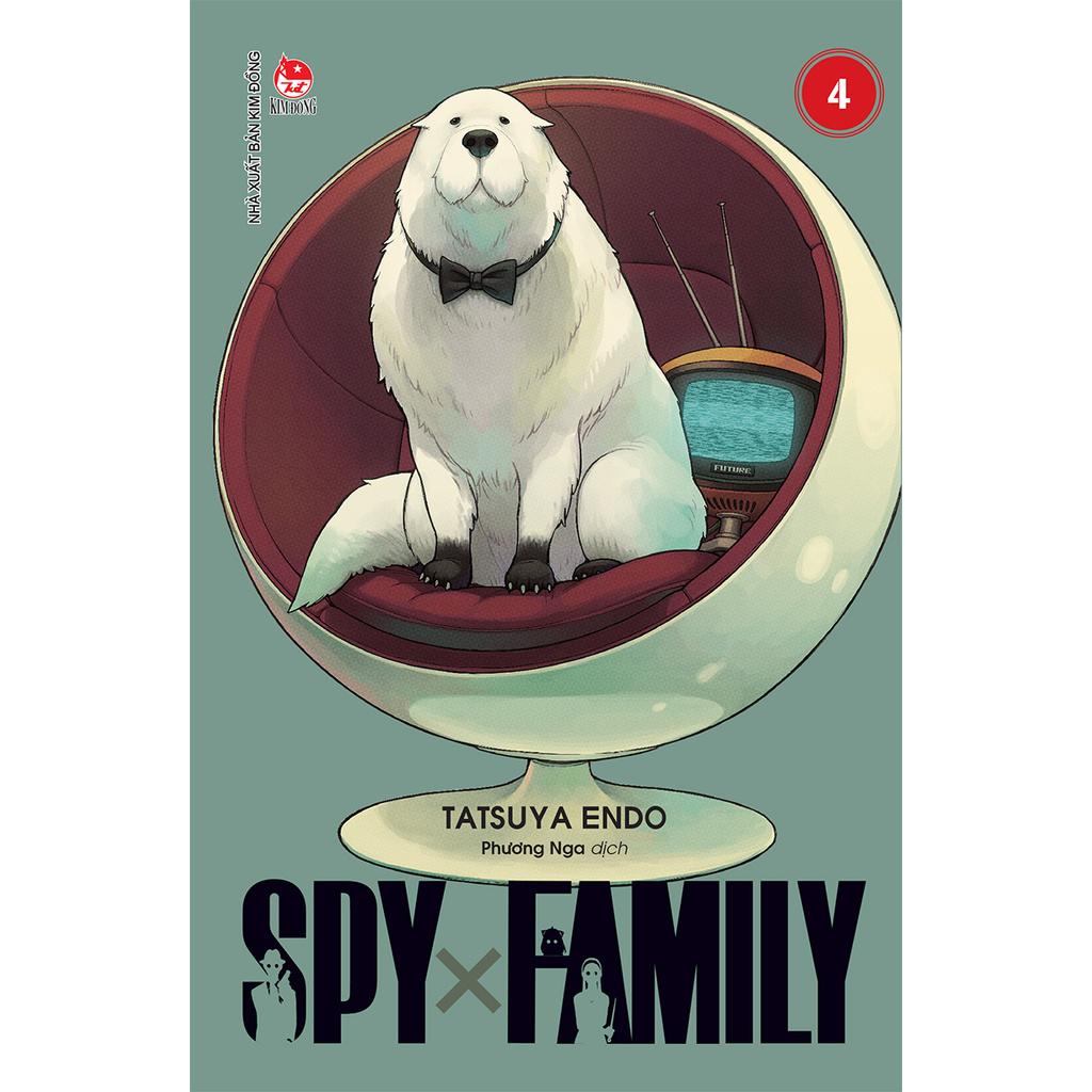 Truyện tranh Spy x Family - Tập 4 - NXB Kim Đồng