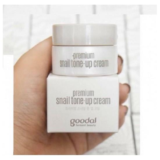 Kem ốc sên dưỡng trắng da Goodal Premium Snail Tone Up Cream - zise mini 10ml - 2647685 , 347827833 , 322_347827833 , 42000 , Kem-oc-sen-duong-trang-da-Goodal-Premium-Snail-Tone-Up-Cream-zise-mini-10ml-322_347827833 , shopee.vn , Kem ốc sên dưỡng trắng da Goodal Premium Snail Tone Up Cream - zise mini 10ml
