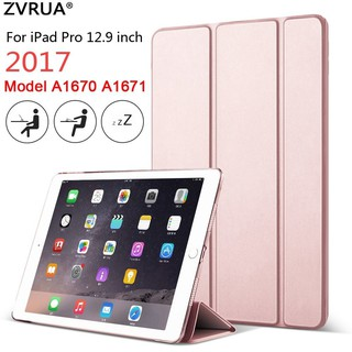PU leather Smart Cover Case Magnet wake up sleep Case for iPad Pro 11 12.9 2018