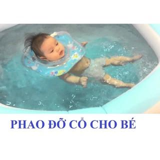 PHAO BƠI ĐỠ CỔ AN TOÀN CHO BÉ -Rẻ nhất