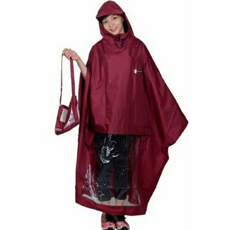 áo mưa dù cao cấp 1 đầu màu tím Thành Đô