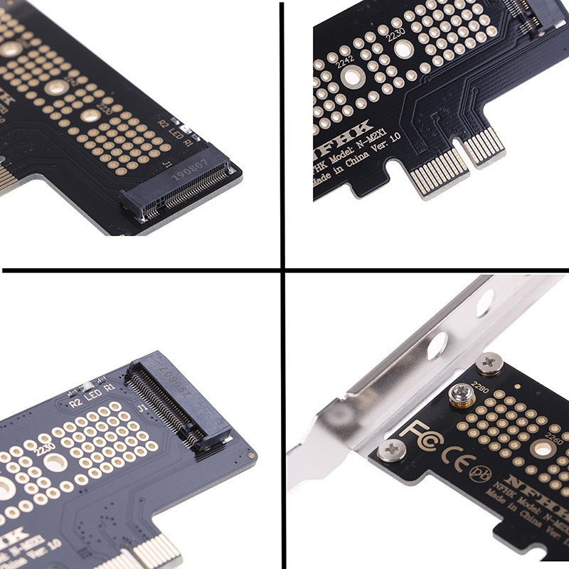 ❀GIÁ RẺ❀NVMe PCIe x4 x2 M.2 NGFF SSD to PCIe x1 converter card adapter PCIe x1 to M.2
