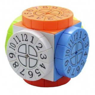 Rubik Biến Thể 6 Mặt – Time Machine Stickerless Cube Dán Sẵn Sticker Có Số