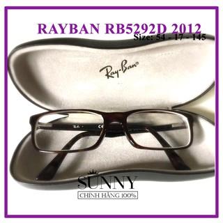 GỌNG KÍNH CHÍNH HÃNG RAYBAN RB5292D-2012 (KÈM TEM CHỐNG HÀNG GIẢ CỦA BỘ CÔNG AN CẤP)