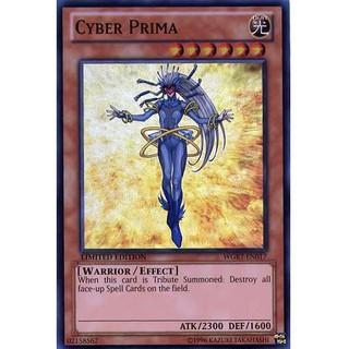 WGRT-EN017 - Cyber Prima - Super Rare Limited 1st Edition thumbnail