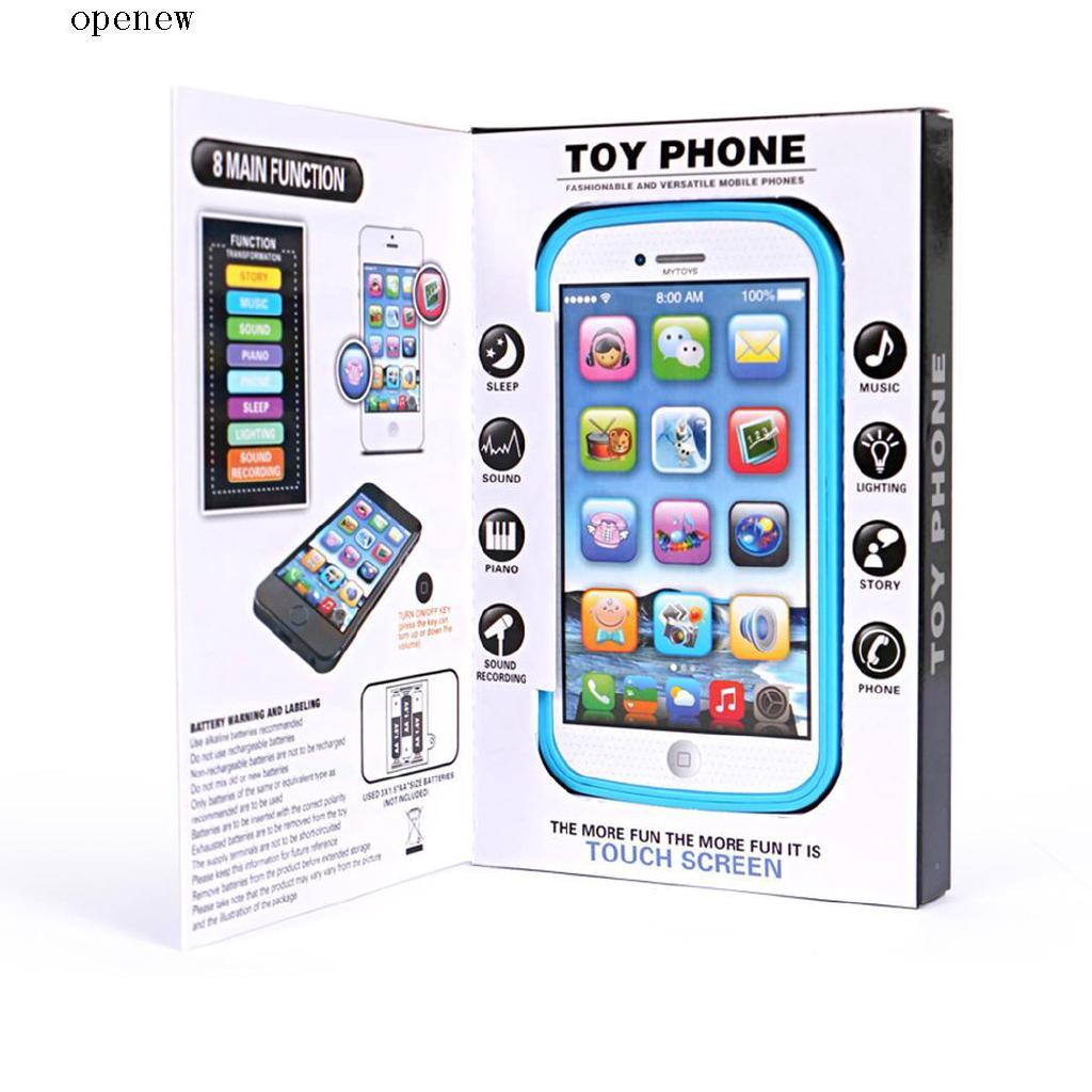op Children Music Electronic Mobile Phone Toy Educational Learning Toy