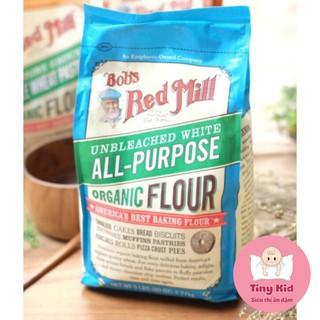 Bột Mì Hữu Cơ Đa Dụng, Bột Mỳ Bob s Red Mill Làm Bánh Cho Bé(tách lẻ) thumbnail
