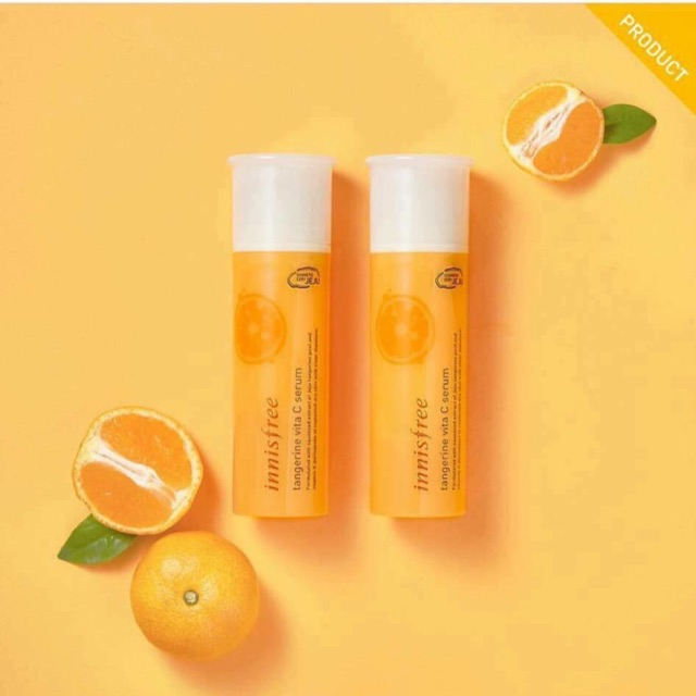 Serum Dưỡng Da Innisfree Tangerine Vita C Serum 2