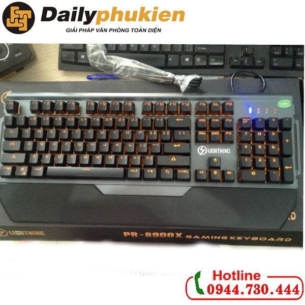 Bàn phím Lightning PR-8900X Switch quang