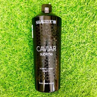 Dầu gội dưỡng ẩm phục hồi tóc chiết xuất trứng cá tầm - Selective Caviar Sublime Ultimate Luxury shampoo 1000ml thumbnail