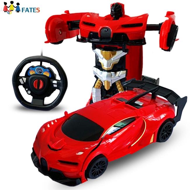 1/24 Deformation Remote Control Car Electric Robot Children Toy Gift