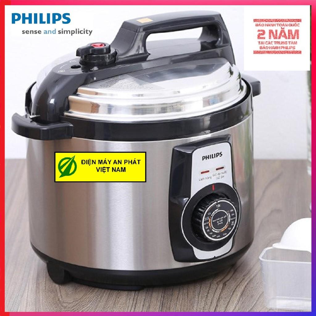 Nồi áp suất Philips HD2103(5 lít)- Hàng Công ty - Bảo hành 2 năm trên toàn quốc( Xuất HĐ GTGT theo yêu cầu)